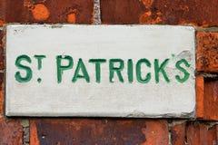 Via della st Patrick Fotografia Stock