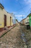 Via della Trinidad Immagini Stock