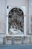 Via delle Quattro Fontane in Rome, Stock Image