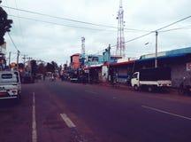 Via dello Sri Lanka fotografia stock libera da diritti