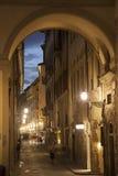 Via den deiGeorgofili gatan Florence royaltyfri foto