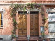 Via det Paolo Fabbri 43 Guccini huset i bolognaen Arkivfoto