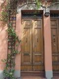 Via det Paolo Fabbri 43 Guccini huset i bolognaen Royaltyfria Foton