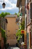 Via di Aix en Provence, Francia fotografia stock