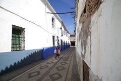 Via di Almagro in Spagna Immagine Stock