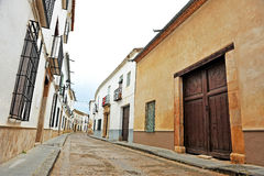 Via di Almagro, Spagna Fotografia Stock