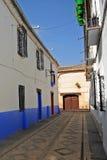 Via di Almagro, Spagna Immagini Stock