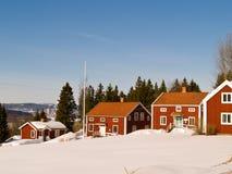 Via di Alno, Sundsvall Fotografia Stock