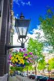 Via di Amsterdam immagine stock libera da diritti