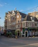 Via di Amsterdam Fotografia Stock Libera da Diritti