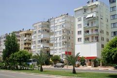 Via di Antalya immagine stock
