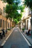 Via di Barcellona Fotografia Stock