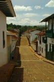 Via di Barichara in Colombia Fotografie Stock