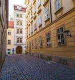 Via di Blutgasse e Mozarthaus Vienna Immagine Stock Libera da Diritti