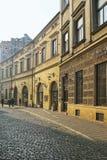 Via di Bracka alla luce di primo mattino, Cracovia, Polonia Fotografia Stock