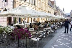 Via di Brasov Immagine Stock Libera da Diritti