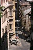 Via di Budapest immagini stock