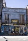 Via di Caminito in La Boca, Buenos Aires, Argentina Fotografia Stock Libera da Diritti