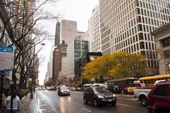 Via di Chicago Fotografia Stock