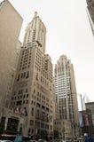 Via di Chicago Fotografie Stock