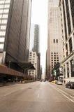 Via di Chicago Immagini Stock Libere da Diritti