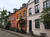 Via di Copenhaghen Fotografia Stock