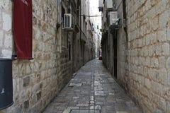 Via di Dubrovnik Fotografie Stock