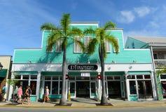 Via di Duval in Key West, Florida fotografia stock