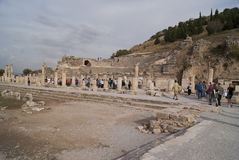 Via di Ephesus Fotografia Stock Libera da Diritti