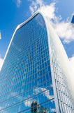 Via di 20 Fenchurch, aka torre del walkie-talkie, Londra Immagine Stock Libera da Diritti