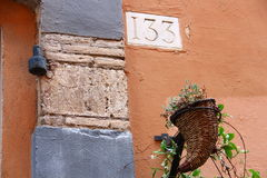 Via di Giulia - di Roma Fotografia Stock Libera da Diritti