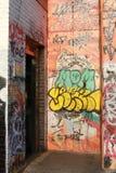 Via 014 di Graffity Fotografia Stock Libera da Diritti