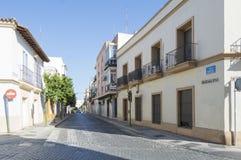 Via di Guadalete, Jerez de la Frontera Fotografie Stock