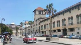 Via di Habana in Cuba Fotografie Stock