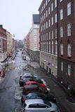 Via di Helsinki immagini stock libere da diritti
