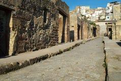 Via di Herculaneum fotografie stock