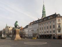 Via di Homens Kanal, Copenhaghen Fotografia Stock