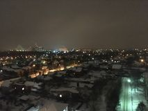 Via di inverno immagini stock libere da diritti