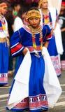 Via di Kaamulan che balla 2012 Fotografie Stock