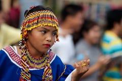 Via di Kaamulan che balla 2012 Fotografia Stock Libera da Diritti