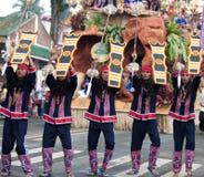 Via di Kaamulan che balla 2012 Immagini Stock