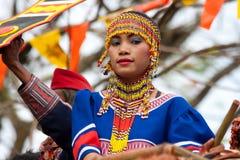 Via di Kaamulan che balla 2012 Immagine Stock Libera da Diritti