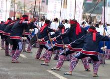 Via di Kaamulan che balla 2012 Immagini Stock Libere da Diritti