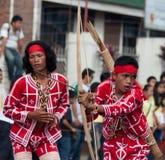 Via di Kaamulan che balla 2012 Immagine Stock
