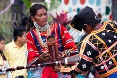 Via di Kaamulan che balla 2012 Fotografia Stock