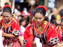 Via di Kaamulan che balla 2012 Fotografie Stock Libere da Diritti