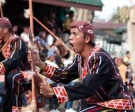 Via di Kaamulan che balla 2012, Bukidnon Fotografie Stock