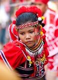 Via di Kaamulan che balla 2012, Filippine Fotografie Stock