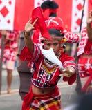 Via di Kaamulan che balla 2012, Filippine Immagine Stock