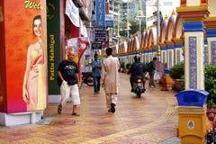 Via di Kuala Lumpur Fotografia Stock Libera da Diritti